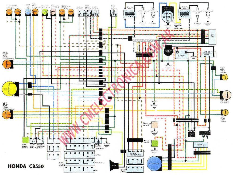 1974 cb550 wiring diagram