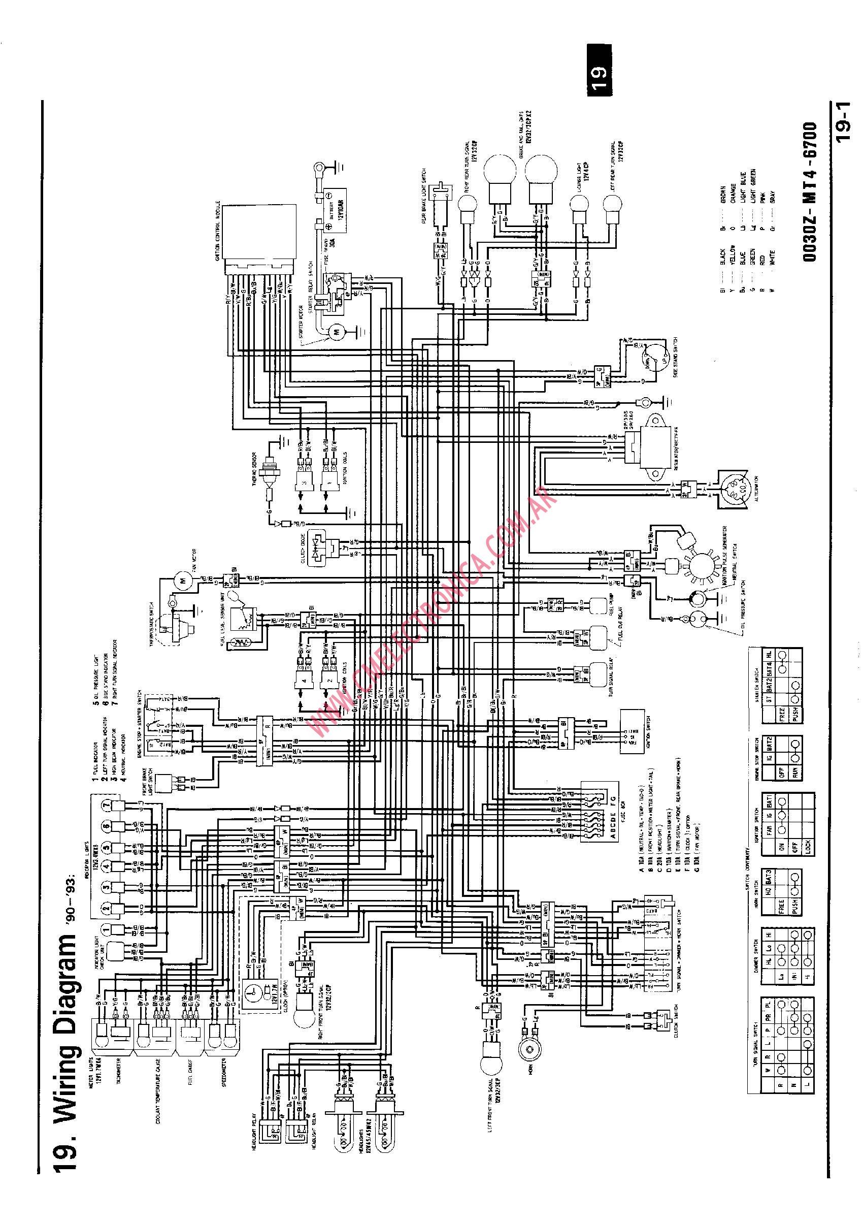 vfr 750 wiring diagram