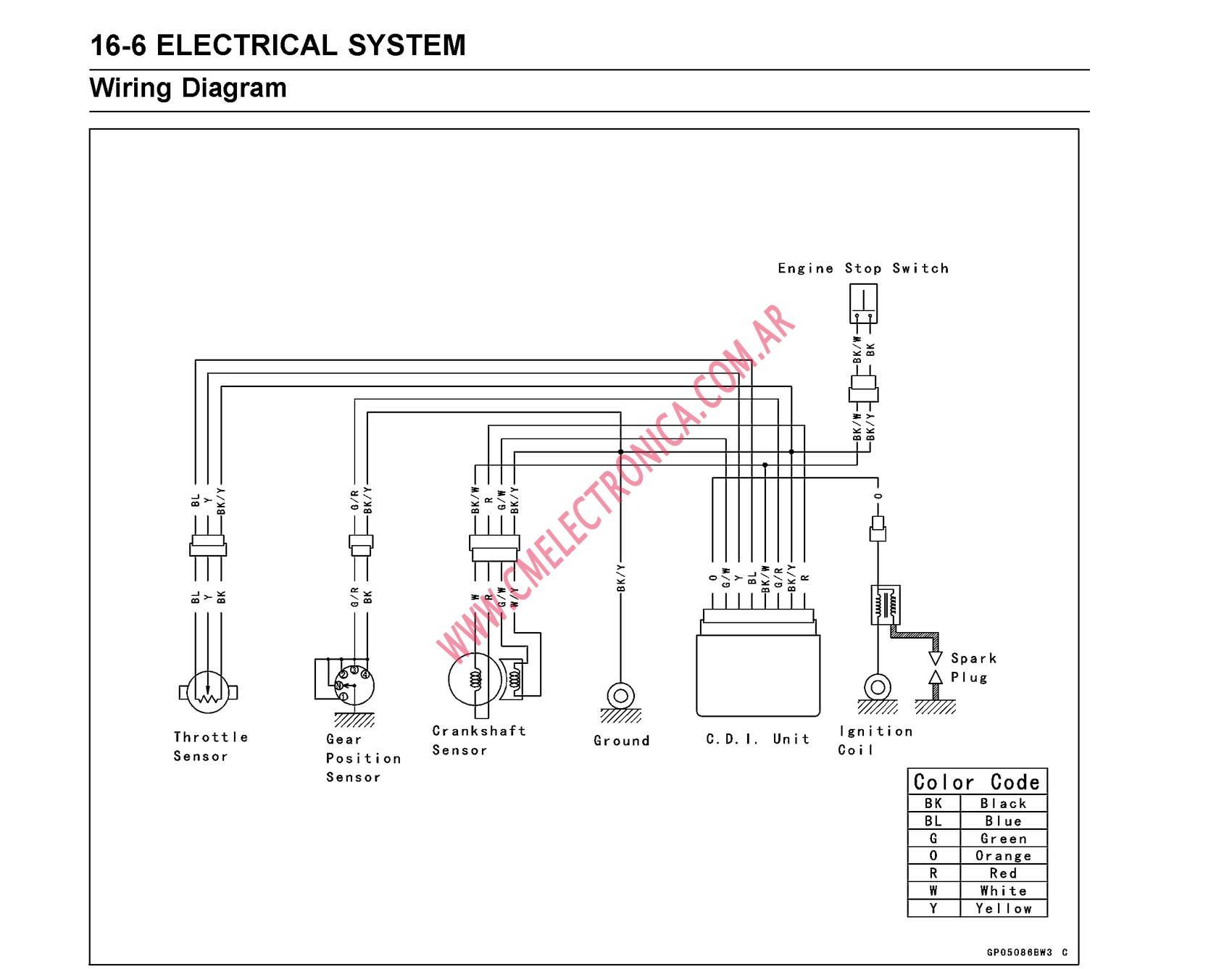 kawasaki kx80 wiring diagram online wiring diagram  kawasaki kx80 wiring diagram #6