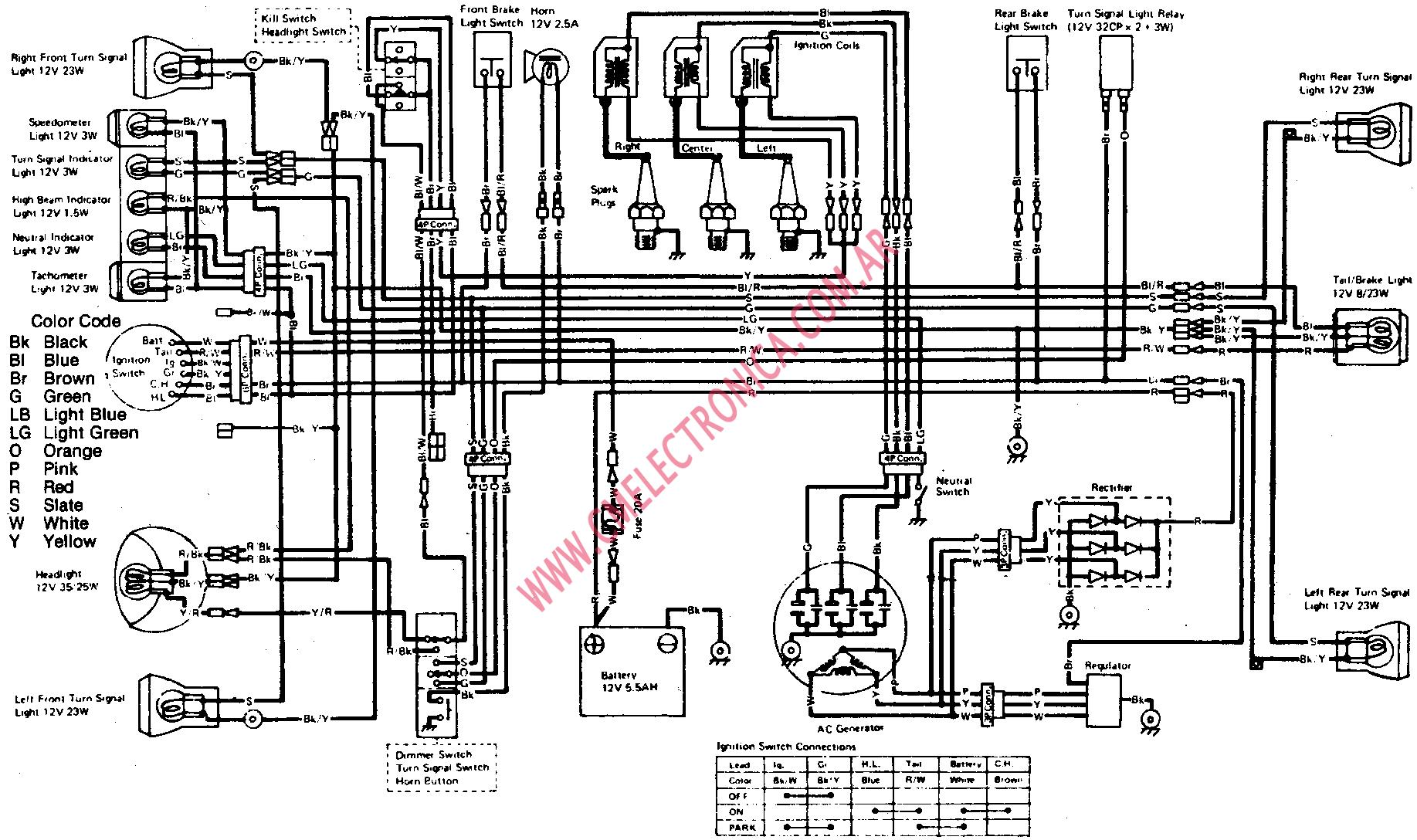 ninja 300 wiring diagram