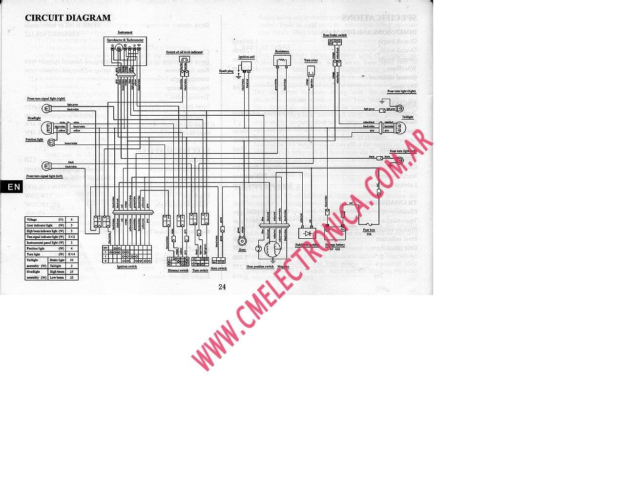 wiring diagram 200 cm