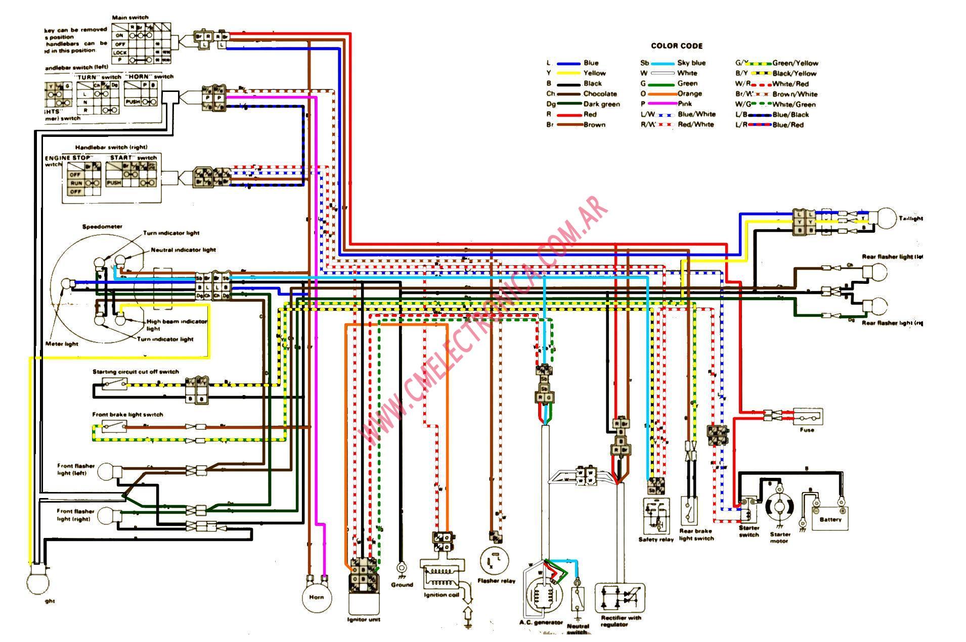 sr250 wiring diagram