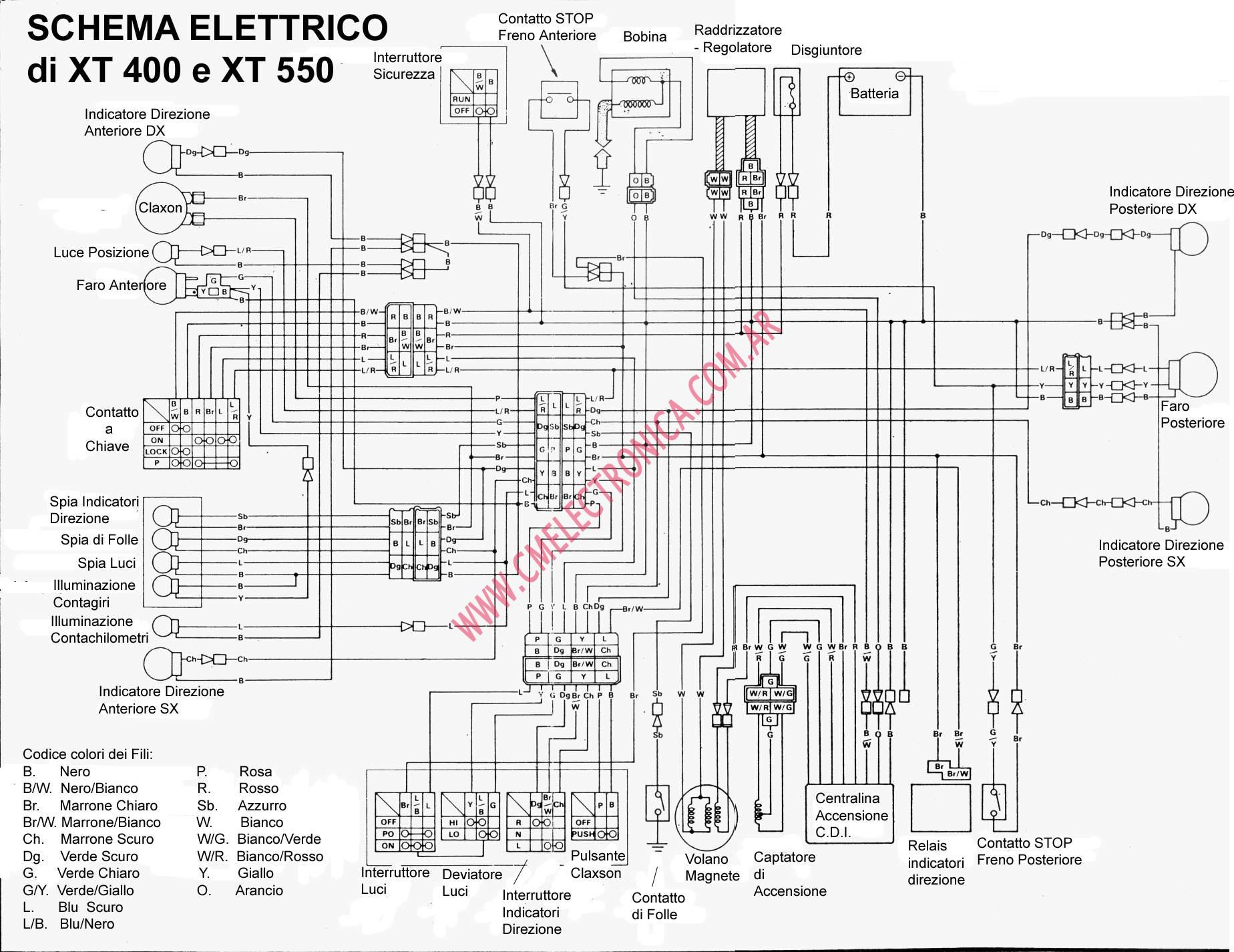 93 95 yamaha kodiak 400 wiring diagram