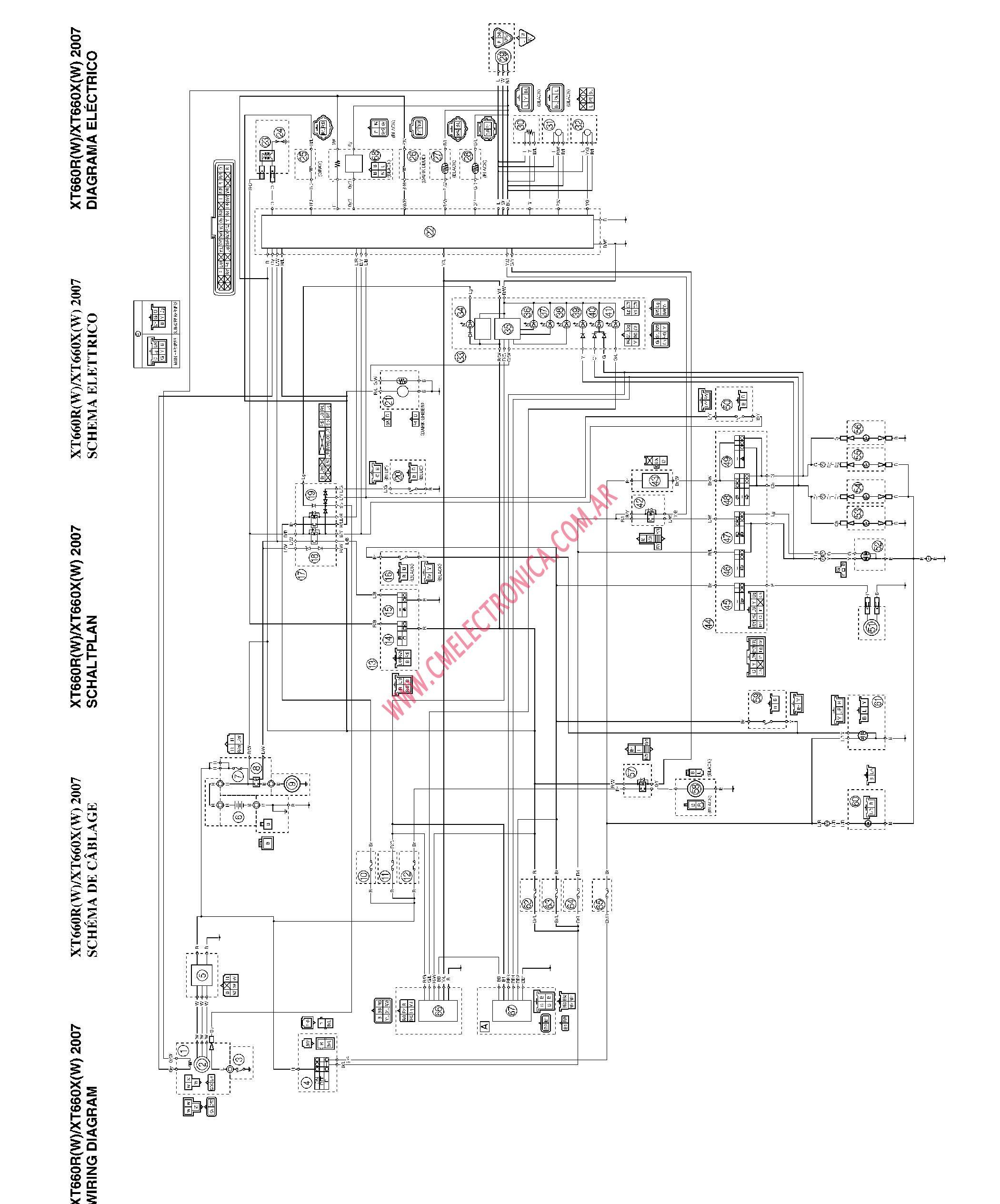 yamaha moto 4 cdi wire diagram auto electrical wiring diagram rh wiring radtour co Yamaha Cdi Wiring Diagram Yamaha Cdi Wiring Diagram