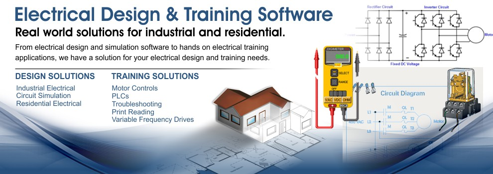 CMH Software - Electrical ladder diagram, floor plan and PLC training