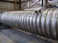 Split Steel Pipe   Half Pipe   The Chicago Curve