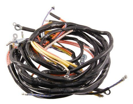 49 - 50 Ford Truck Dash Wiring Harness - 6 Cyl - Ignition Switch