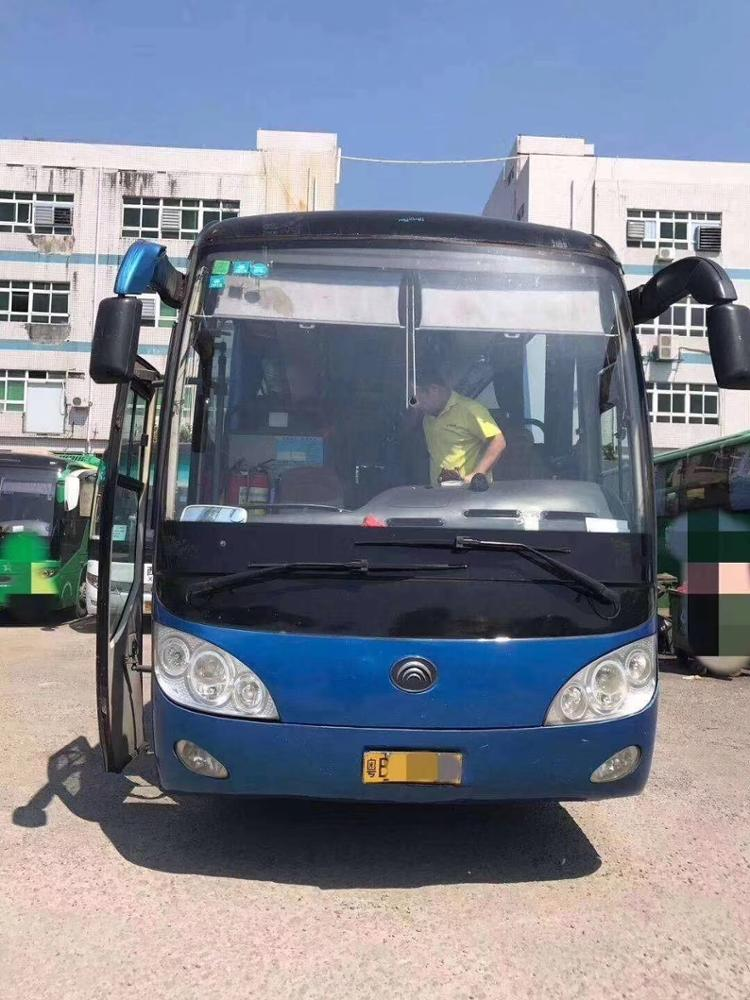 20 seats used toyota coaster bus with air conditioner