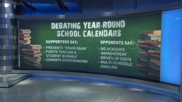 Calendar Year Round School School Calendars Overview Wake County Public School We Need Year Round School To Compete Globally Cnn