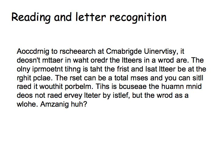 Perception Lecture Notes Recognition