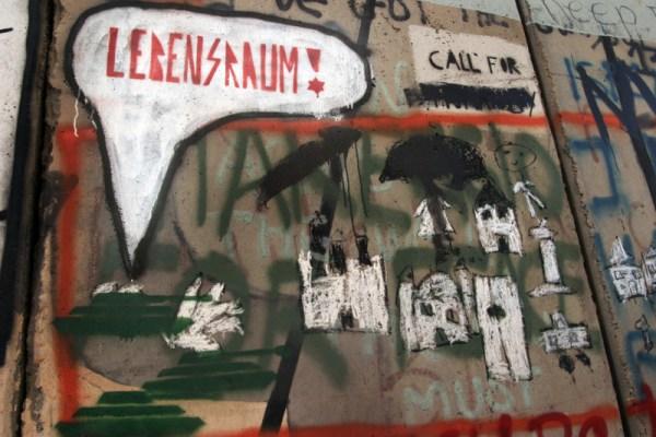 Bethlehem - Wall Lebensraum