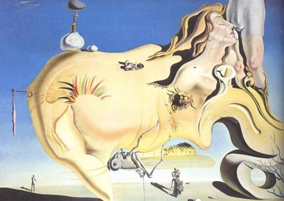 "Salvador Dali, ""The Great Masturbator"""