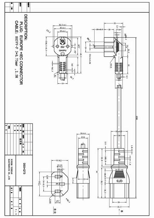 3 prong 250v wiring diagram