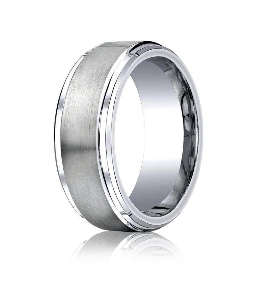 Cobalt Chrome cobalt wedding rings Cobalt chrome 9mm Comfort fit Band by Benchmark