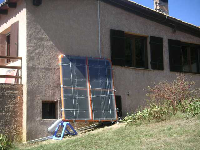 un panneau solaire à air - Panneau Solaire Chauffage Maison