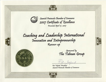 Award Winning Business and Life Coach Training Course and Coaching