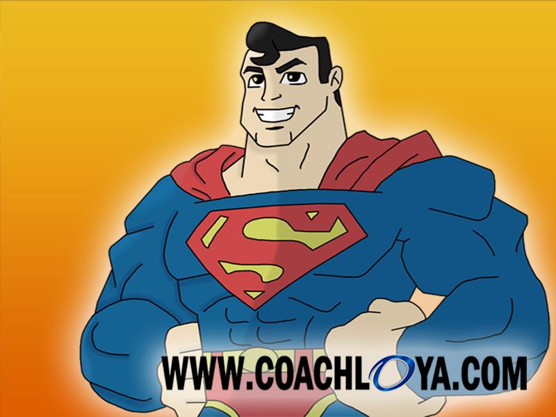 Superhero Powers Coach Loya