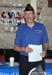 CVO Chair Bruce Parry addresses the September 20th Town Hall meeting.