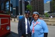 Darryl Howard, CVO Director with NWVU President Rochelle Crump