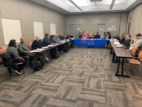The CVO meeting in session at Jesse Brown VA on January 20, 2020.