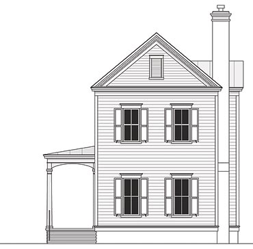 Charleston Style House Plans - Coastal Home Plans