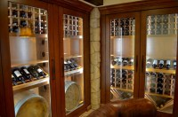Wine REFRIGERATION SYSTEM for California **Custom Cabinets*