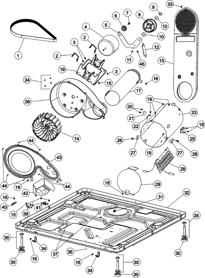 maytag dryer old edition schematic