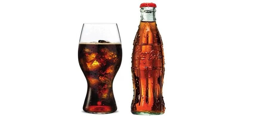 riedel propose un verre qui am liore la d gustation du coca cola. Black Bedroom Furniture Sets. Home Design Ideas