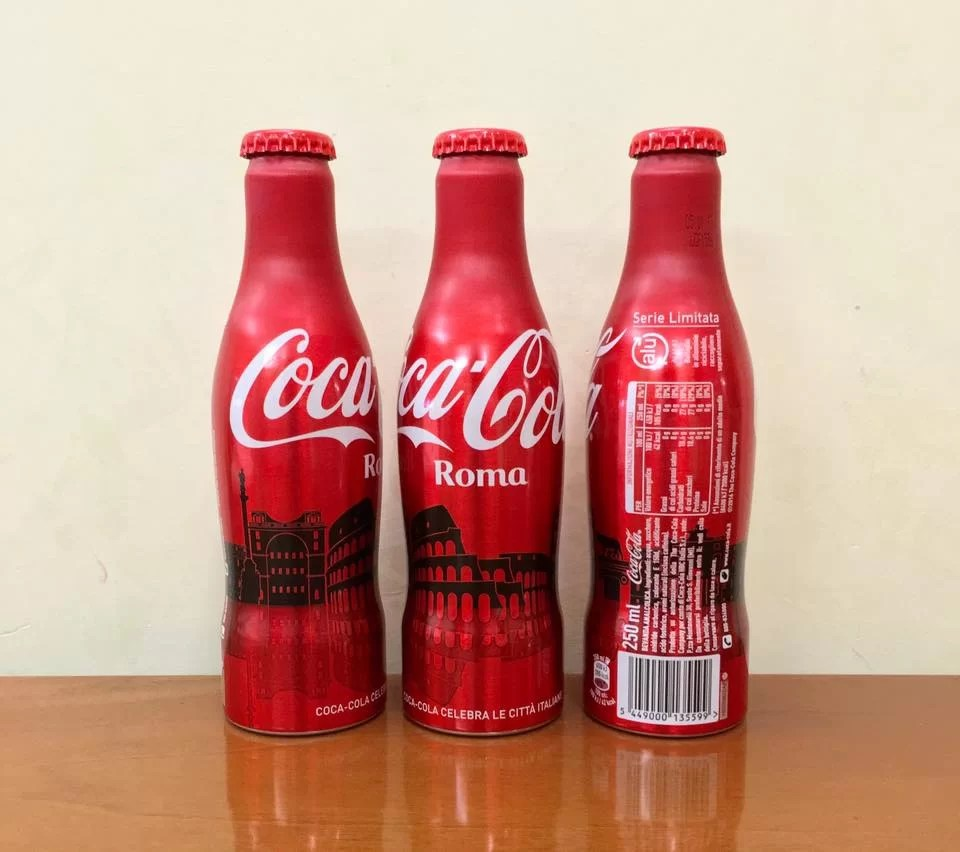 Coca-Cola Italie célèbre Rome en édition limitée