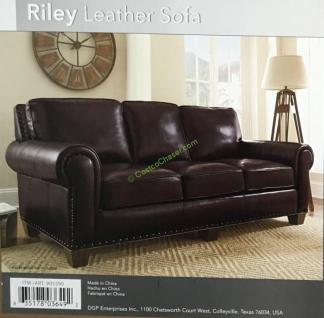 Adalyn Home Leather Sofa – CostcoChaser