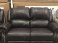 Berkline leather loveseat recliner costco