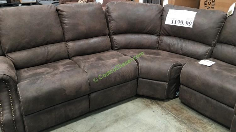Click to Enlarge & Fabric Motion Sectional With 3 Recliners \u2013 CostcoChaser islam-shia.org