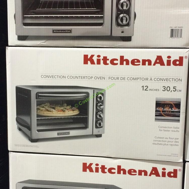 Captivating KitchenAid KCO234CCU Convection Countertop Oven