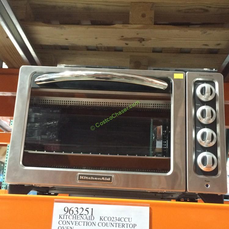 KitchenAid KCO234CCU Convection Countertop Oven CostcoChaser