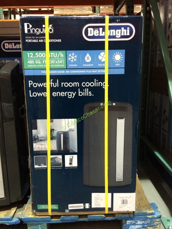 delonghi btu portable air conditioner