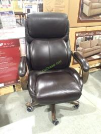 LA-Z-Boy Executive Office Chair Top Grain Leather, Model ...