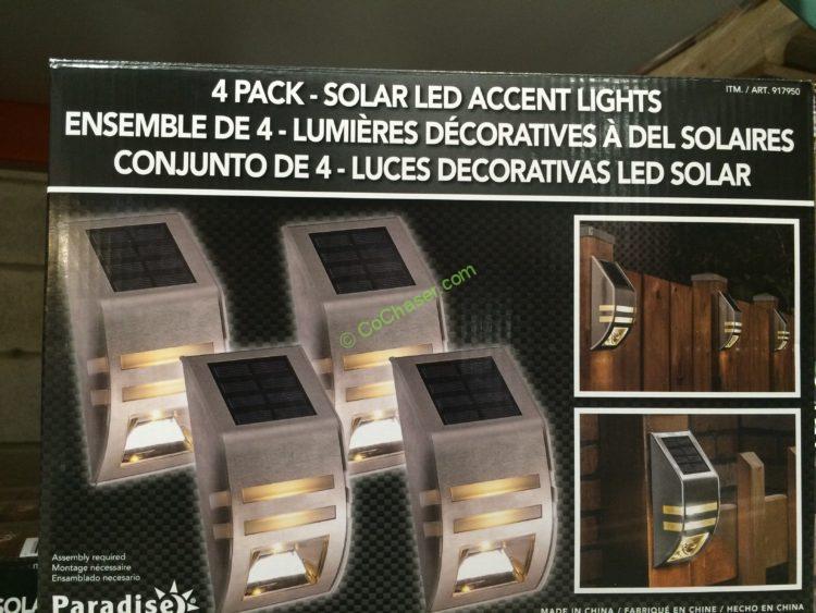 Pathway Lights LED Solar 8 PK, Model# GTX-10055-8PK – CostcoChaser