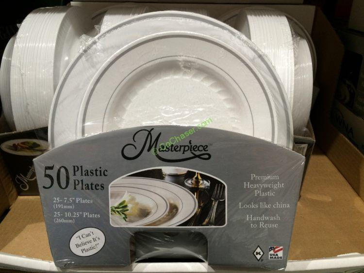 Plastic ... & Masterpiece Premium Plastic Plates - Castrophotos