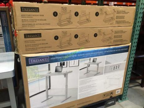 Tresanti Adjustable Height Desk Costcochaser
