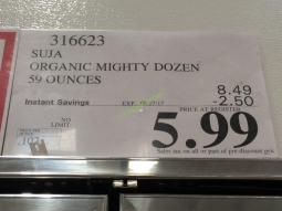 Costco-316623-SUJA-Organic-Mighty-Dozen-tag