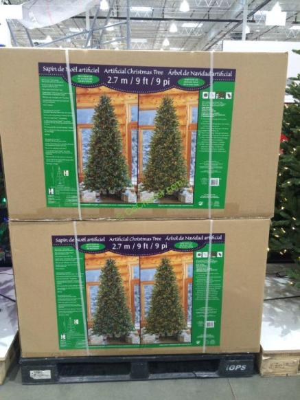 Costco-1455658-Pre-Lit-LE- EZ-Connect-Dual-Color-Christmas-Tree