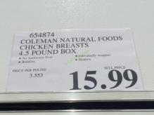 Costco-654874-Coleman-Natural-Foods-Chicken-Breasts-tag