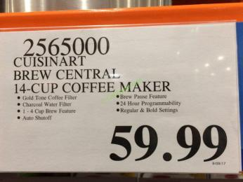 Costco-2565000-cuisinart-brew-central-14cup-coffee-maker-tag