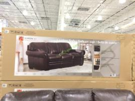 Costco-1049174-1049175-Simon-Li-Leather-Sofa- Loveseat-box