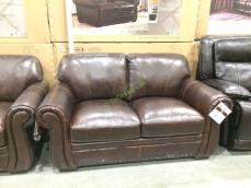 Costco-1049174-1049175-Simon-Li-Leather-Sofa- Loveseat1