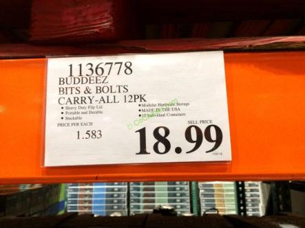 Costco-1136778-Buddeez-Bits-Bolts-Carry-All-12PK-tag