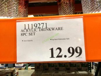 Costco-1119271-Acrylic-Drinkware-8PC- Set-tag