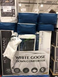 Hotel Grand White Down Goose Down Comforter King ...