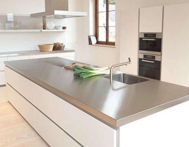 Tipos de encimeras que encimera elegir cocilady cocinas - Encimera marmol cocina ...