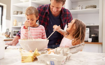 Cocinar con Niños una Actividad para toda la Familia